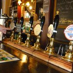 Lovely selection of real ales