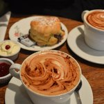 Scones And Large Cappuccino