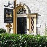 Covenstead B&B in Glastonbury front door