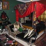 Covenstead B&B Halloween Honeymoon room - love it!
