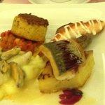 Valentine Dinner Sharing Plate