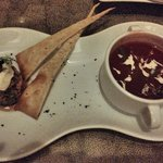 Andalusian Gazpacho - late evening room service