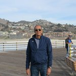 Pismo Beach Pier, view the city!