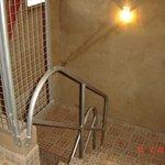 Pasillo del segundo piso a terminar