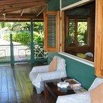 Lounge on the wrapped around verandah