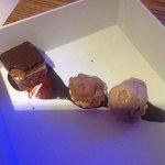 chocolate trio at blue bar....yummmm