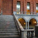 лестница в стокгольмской ратуше