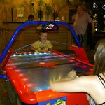 Game room! Great options for little kids!