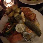 Less than impressive seafood platter