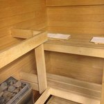 Privat Sauna im Business Zimmer