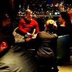 Sky Bar - Bedienung bei ca. 30 Min. Privatgespräch mit Gästen - Freunden