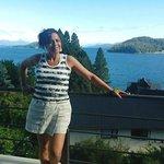 Hermosa vista al Lago Nahuel Huapi.