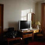 Writing Desk and TV