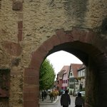 Entrance to the old city of Bergheim