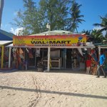 Local Shopping, just up the beach