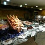 Breakfast buffet had wonderful selection of food!