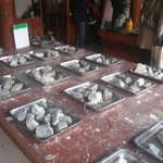 Raw un-cut jade stones