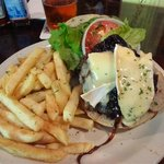 Our Famous Caramelized Onion & Brie Burger