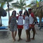 Playa con los mejores del staff