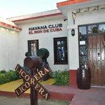 Front Door of El Ron de Cuba