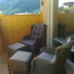 balcone della suite