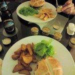 Cheeseburger campagnard