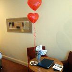 Valentine's greeting in our room