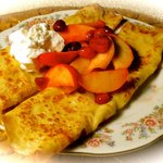 Apple Cranberry Crepes