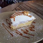 Banana cream pie...a favorite in our group!