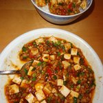 sechuan tofu with mince