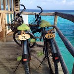 Six Senses personalised out bikes for the 40th celebration