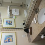 bathroom view (when lying down)