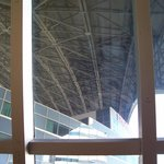 Fully retracted Rogers Center roof