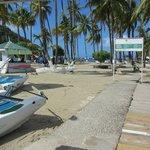 La Bas beach in Marigot Beach