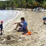 Great beach for sandcastles