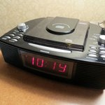 Room Clock - with a CD player