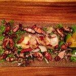 grilled mini calamari