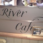 Inside river cafe 14/2/14