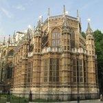 Vista del lado del abside de la Abadia de Westminster