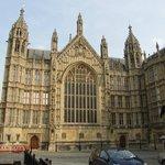 Parte del magnifico edificio del Parlamento