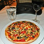 Small capricciosa pizza ($15)