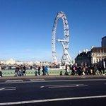 London Eye back of hotel