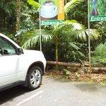 lodge car park