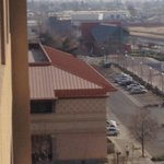 The Bakersfield Amtrak Station Can Be Seen From The Hotel Concierge Level