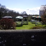 large pub garden