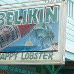 Belikin Beer sign