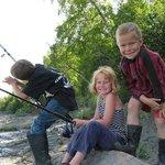 Family Fun Fishing in Walking Distance