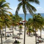 vue sur plage