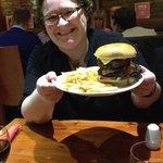 Mahoosive monster burger