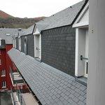 visuale sui tetti